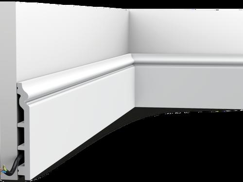 Klassieke plint SX118 Orac Decor® (gespoten in RAL9003)