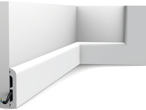 Cascade plint SX183 Orac Decor® (gespoten in RAL 9003)